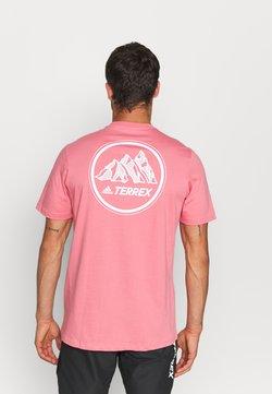 adidas Performance - TEE - T-Shirt print - hazy rose