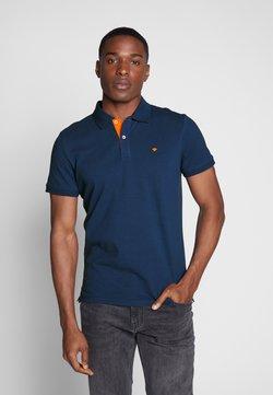 TOM TAILOR - BASIC WITH CONTRAST - Poloshirt - blue