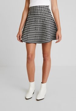Molly Bracken - YOUNG LADIES SKIRT - A-linjainen hame - black/offwhite