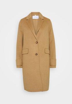 Calvin Klein - DOUBLE FACE COAT - Classic coat - hazel melange