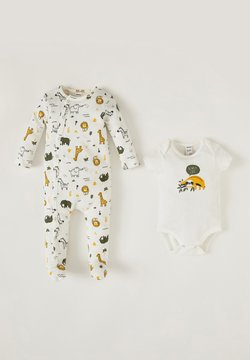 DeFacto - BABYGROW AND BODY SET - Body - ecru