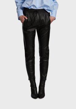 Oakwood - GIFT - Pantalon en cuir - black
