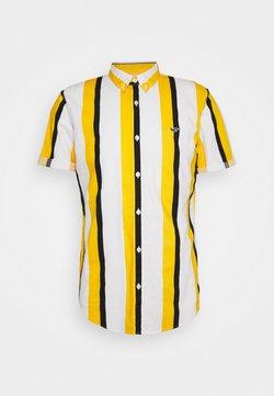 Hollister Co. - SLIM PATTERN - Hemd - blue/yellow