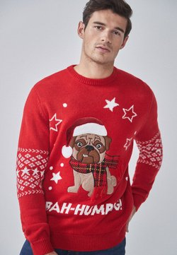 Next - BAH HUMPUG - Pullover - red