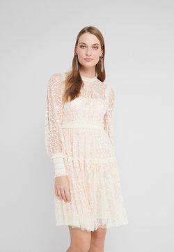Needle & Thread - THORN MINI DRESS - Cocktailkleid/festliches Kleid - champagne/pink