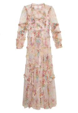 Needle & Thread - FLORAL DIAMOND RUFFLE GOWN - Ballkleid - topaz pink