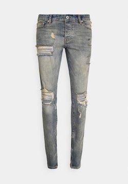 Pegador - MITU DISTRESSED - Jeans slim fit - straw blue
