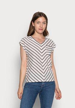 comma casual identity - KURZARM - T-Shirt print - black doub