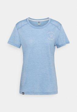Mons Royale - VAPOUR TEE - T-Shirt basic - faded denim