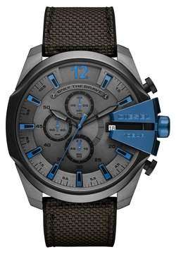 Diesel - MEGA CHIEF - Montre à aiguilles - grey/black