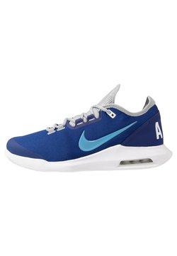 Nike Performance - COURT AIR MAX WILDCARD CLAY - Tennissko til grusbane - deep royal blue/coast/white
