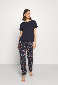 Marks & Spencer London - FLORAL - Pyjama - navy mix