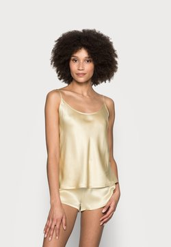 La Perla - SHORT PAJAMAS - Pyjama set - beige stone