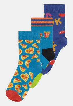 Happy Socks - PIZZA LOVE & IT'S OK & BEST BUDS 3 PACK UNISEX - Calcetines - multi-coloured