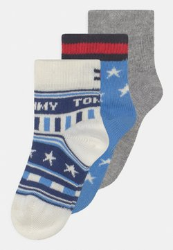 Tommy Hilfiger - STARS AND STRIPES GIFTBOX 3 PACK UNISEX - Calcetines - blue