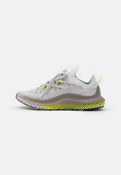 adidas Originals - 4D FUSIO UNISEX - Sneaker low - grey one/grey six/solar yellow
