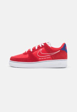 Nike Sportswear - AIR FORCE 1 '07 LV8 S50 - Sneaker low - univers red/white/deep royal blue/sail/team orange/black