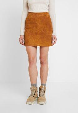 Noisy May - Mini skirt - sudan brown