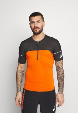ASICS - FUJITRAIL - Camiseta estampada - marigold orange