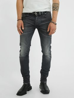 YOUNG POETS SOCIETY - JEANS MORTEN  - Slim fit jeans - dark grey