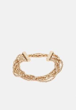 DKNY - MULTI ROW BRACELET - Armband - gold-coloured