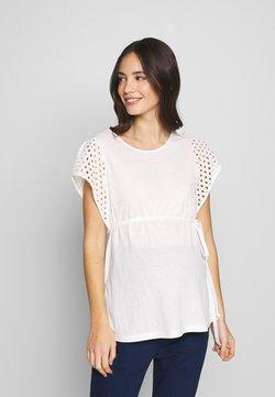 ATTESA - MANICHE SANGALLO - Camiseta estampada - white