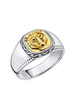 THOMAS SABO - RING 925 STERLINGSILBER, GESCHWÄRZT, 750 GELBGOLD VERGOLDUNG - Ring - schwarz, gelbgoldfarben, silberfarben