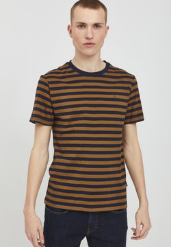 Casual Friday - THOR STRIPED Y/D  - T-shirt con stampa - breen