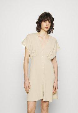 Samsøe Samsøe - VALERIE SHORT DRESS - Vestido camisero - brown rice
