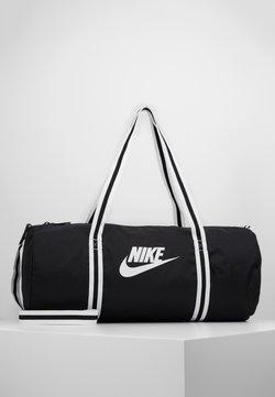 Nike Sportswear - HERITAGE UNISEX - Sporttasche - black/white