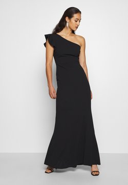 WAL G. - ONE SHOULDER DRESS - Abito da sera - black
