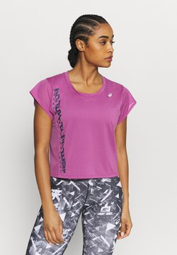 ASICS - RUN - T-Shirt print - digital grape/french blue