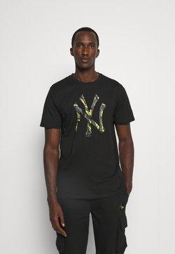 New Era - MLB NEW YORK YANKEES TEE - Vereinsmannschaften - black