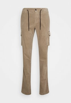 Mason's - CHILEJOGGER - Cargo trousers - sand