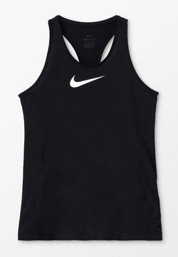 Nike Performance - TANK - Koszulka sportowa - black/white