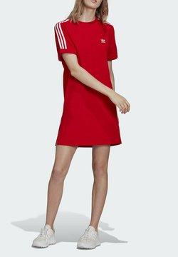 adidas Originals - TEE DRESS - Jerseykleid - red