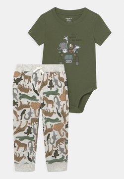 Carter's - SAFARI SET - Camiseta estampada - khaki
