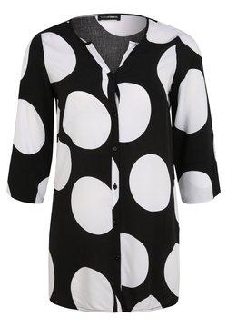 DORIS STREICH - Hemdbluse - schwarz/weiß
