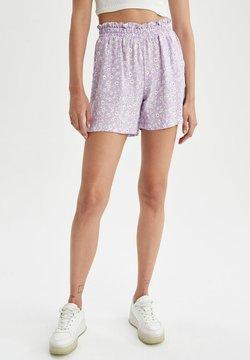 DeFacto - Shorts - purple