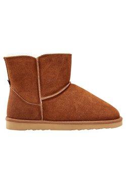 Next - CHESTNUT SUEDE SLIPPER BOOTS - Stiefelette - brown