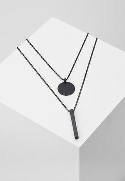 Burton Menswear London - LAYERED  - Necklace - black
