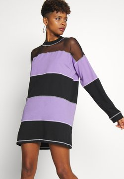 The Ragged Priest - SKATER DRESS - Jersey dress - black/purple