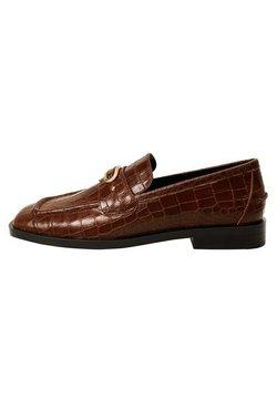 Mango - MIT SCHNALLE - Loafers - braun