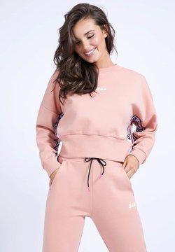 Guess - Sweatshirt - mehrfarbe rose