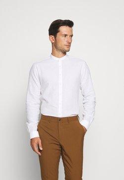 Lindbergh - MANDARIN COLLAR SHIRT  - Camisa - white