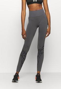 adidas by Stella McCartney - TRUEPUR  - Legging - granite/black