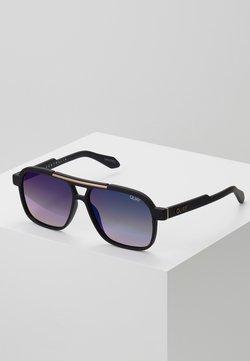 QUAY AUSTRALIA - NEMESIS - Gafas de sol - matte black/navy