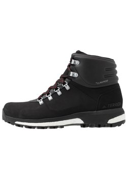 adidas Performance - TERREX BOOST COLD.RDY RAIN.RDY HIKING SHOES - Zapatillas de senderismo - core black/scarlet
