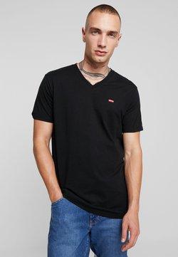 Levi's® - VNECK - T-shirt imprimé - mineral black