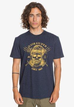 Quiksilver - T-shirt print - navy blazer heather